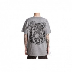 Camiseta chempie gris...